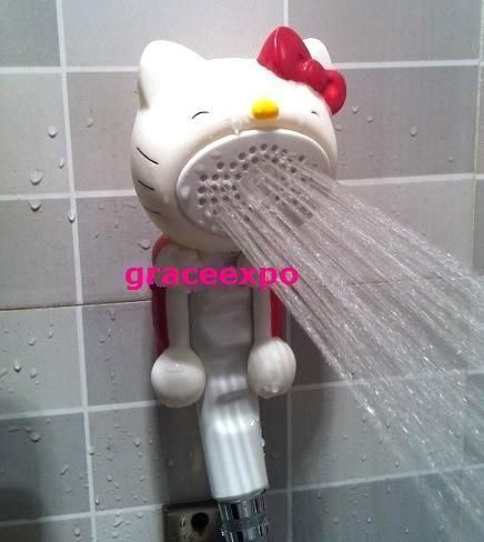 KT25 Hello Kitty Shower Nozzle lovely Cute Cartoon Nozzle Shower Head WAWA | the Hello Kitty Collectionary