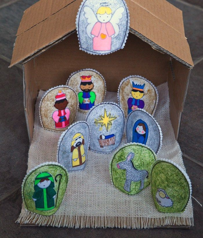 58 best beln diy images on pinterest christmas crafts awesome collection of all kinds of nativity patterns to use with your children this christmas find this pin and more on beln diy solutioingenieria Gallery