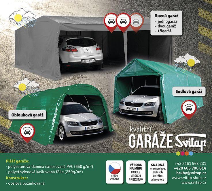 Textilní garáže | svitap.cz