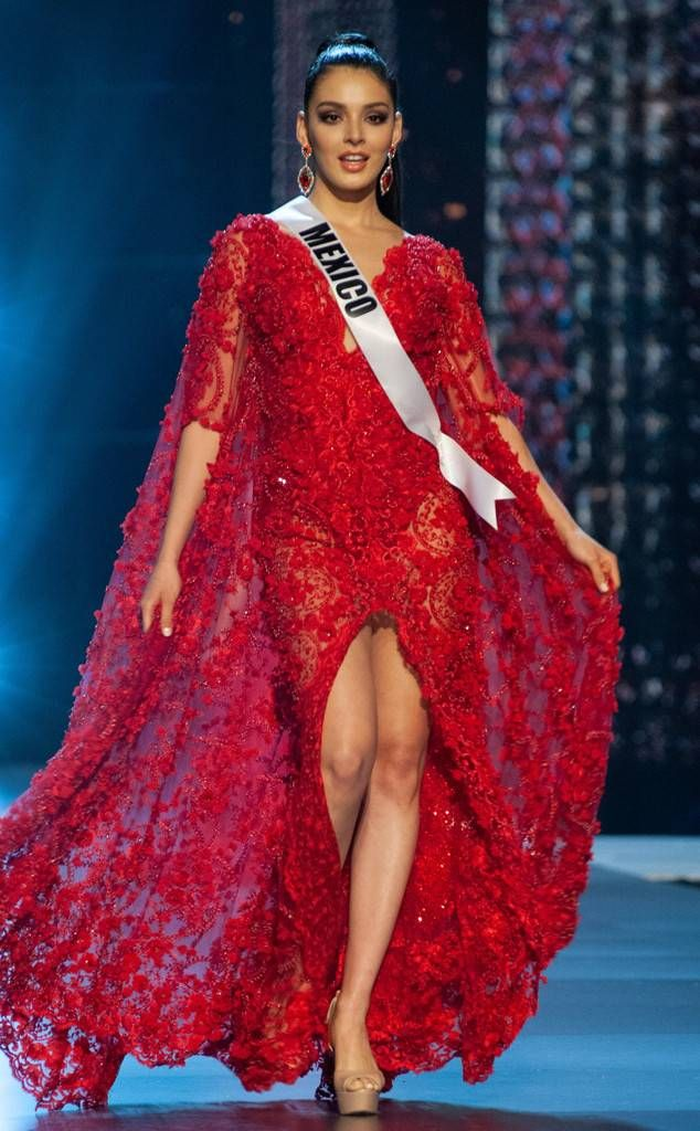 2a9fca2319 Miss Mexico from Miss Universe 2018 Evening Gown Competition Andrea Toscano