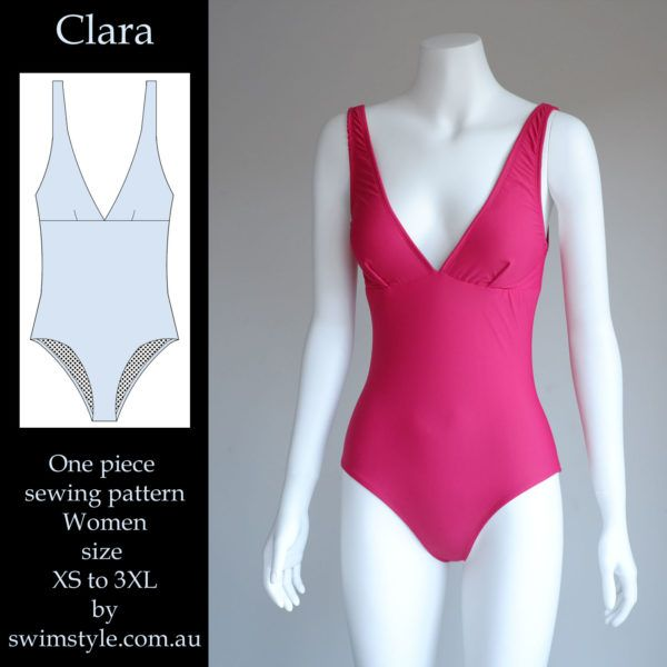 Clara swimsuit pattern