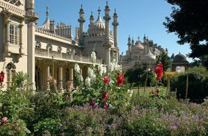 Built for the Prince Regent, later King George IV, in stages between 1787 and 1823, the Royal Pavilion is remarkable for its exotic oriental appearance both inside and out. This magnificent royal pleasure palace was revered by fashionable Regency society