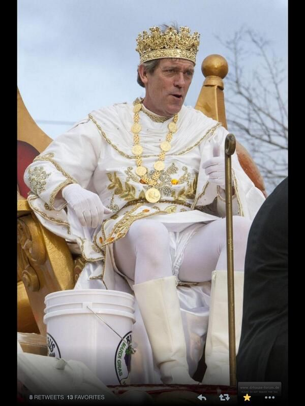 Hugh Laurie Is The King Of Bacchus
