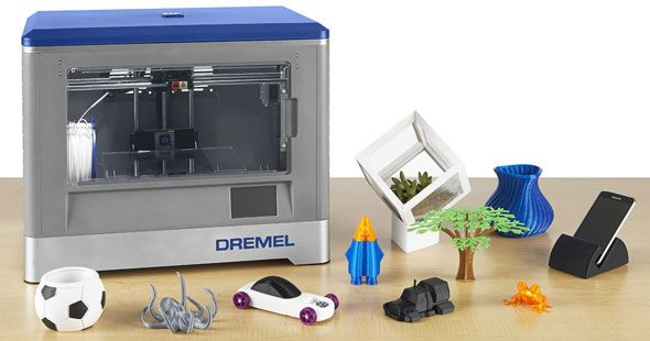 Dremel 3D Printer and Sample Prints
