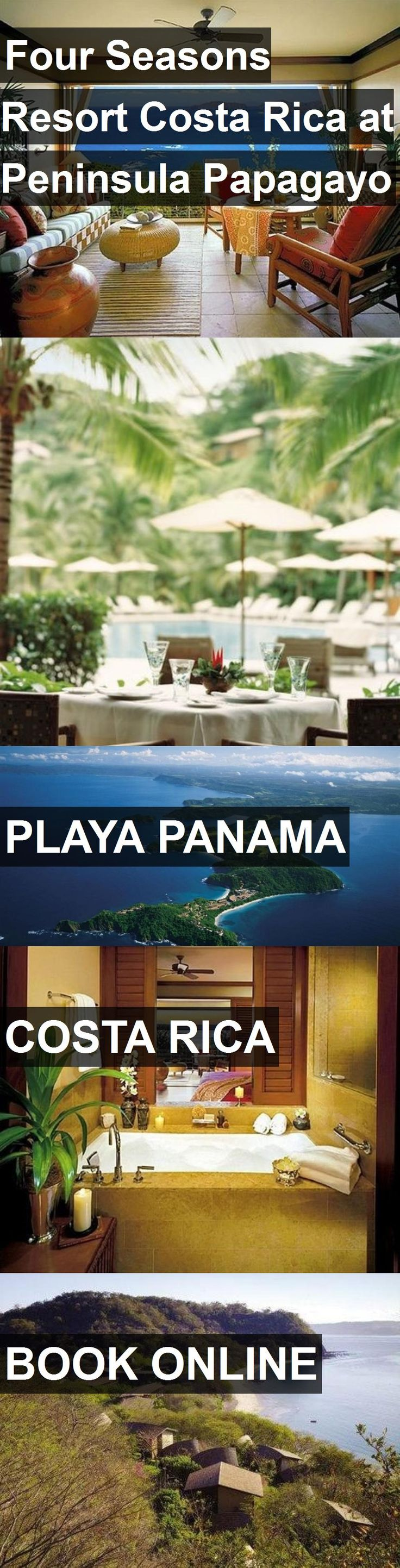 Hotel Four Seasons Resort Costa Rica at Peninsula Papagayo in Playa Panama, Costa Rica. For more information, photos, reviews and best prices please follow the link. #CostaRica #PlayaPanama #hotel #travel #vacation