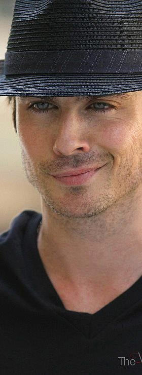 Ian Somerhalder.  that crooked smile could kill me