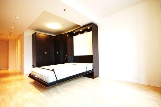 Studio murphy bed turk st san francisco ca 94102 for Murphy beds san francisco