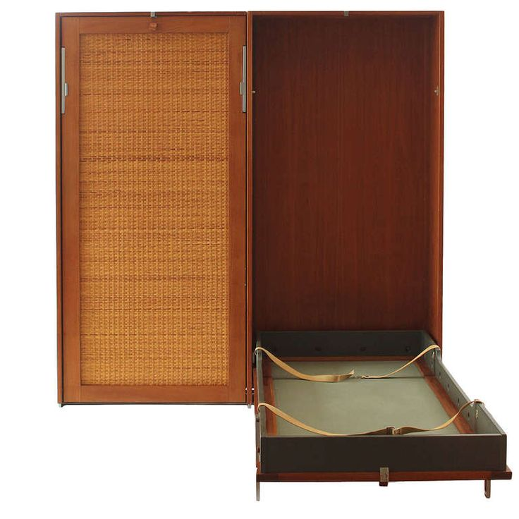Double Murphy Bed by Hans J. Wegner | From a unique collection of antique and modern beds at http://www.1stdibs.com/furniture/more-furniture-collectibles/beds/