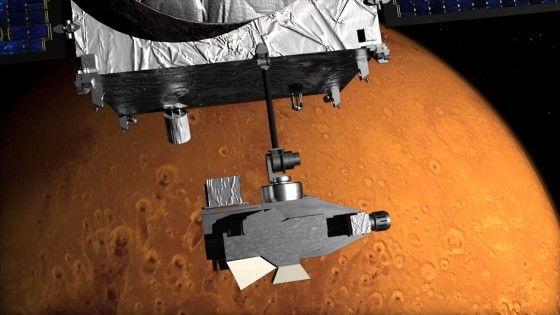 Sonda arriva su Marte, un altro passo verso il viaggio umano