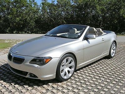 Best BMW Images On Pinterest Cars Convertible And Biking - 2005 bmw 645ci convertible price