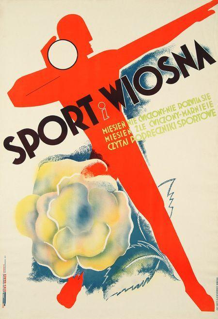 Anatol Girs, Barcz, Sport i Wiosna Mięsień nie ćwiczony - nie rozwija się Mięsień źle ćwiczony - marnieje Czytaj podręczniki sportowe, 1933