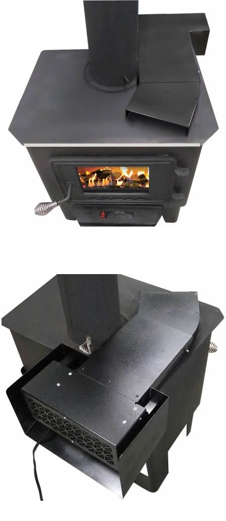 Universal Heat Reclaiming Wood Stove Blower