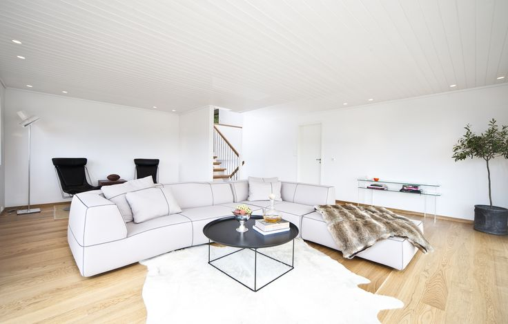 Living room: Bend sofa and Fat Fat table from B&B Italia