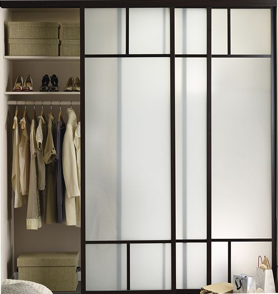 Interior Sliding Glass Doors Room Dividers 98 best closets images on pinterest | closets, glass closet doors