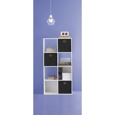 Room Essentials 8 Cube Organizer White Lay This