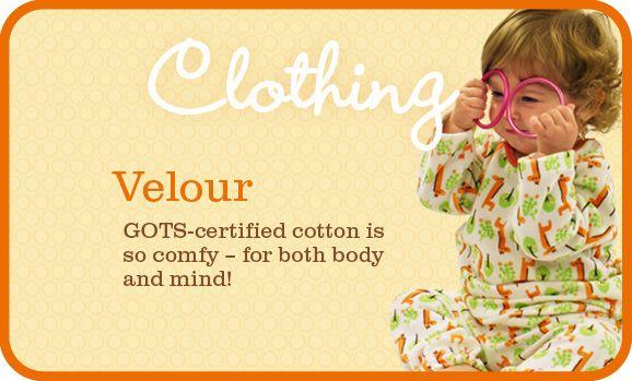 Velour clothes