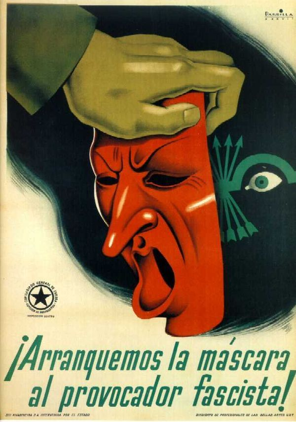 Carteles Anarquista y Antifascista (Guerra Civil Española)