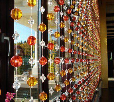 Las 25 mejores ideas sobre cortina separadora de ambientes - Cortinas de abalorios ...