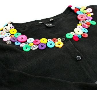 Want to customise you clothing - click here to find out some easy designs to try : http://www.vouchercodespro.co.uk/blog/customising-clothing-using-buttons-with-hobbycraft