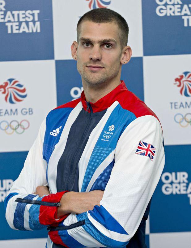 Robbie Grabarz - English Athlete ( High Jumper.) 2012.