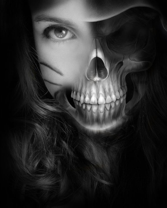 Skull by ~Kakaao on deviantART