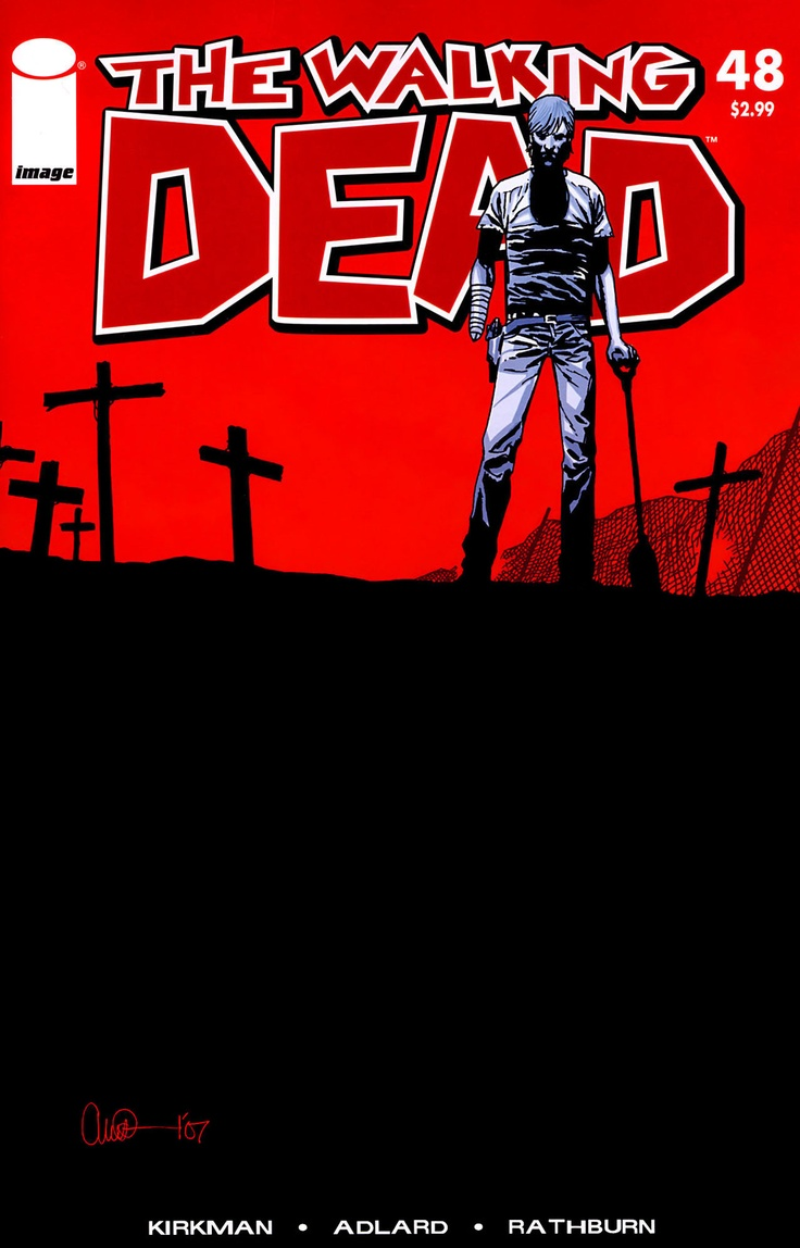 The Walking Dead issue 48 - the issue where shit hit the fan and where I will be getting my cosplay inspiration from.