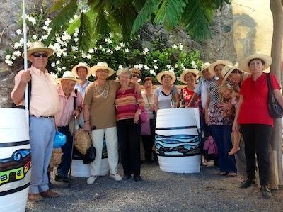 Asociación Tasagaya en Bodega Contiempo... Grandes! #enoturismo