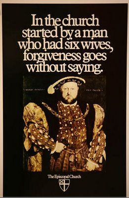 A late-1970s ad for the Episcopal Church, created by the Fallon McElligott advertising agency