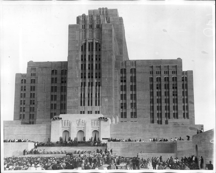 Los Angeles County Hospital in 1930