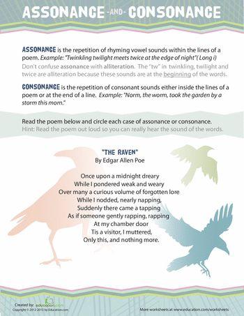 20 Best Assonance Consonance Images