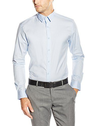 122 kr. ONLY & SONS Men's Slim Fit Long Sleeve Casual Shirt -  Bl... https://www.amazon.co.uk/dp/B00XYO55HM/ref=cm_sw_r_pi_dp_x_rtw4xbT2DP5PM