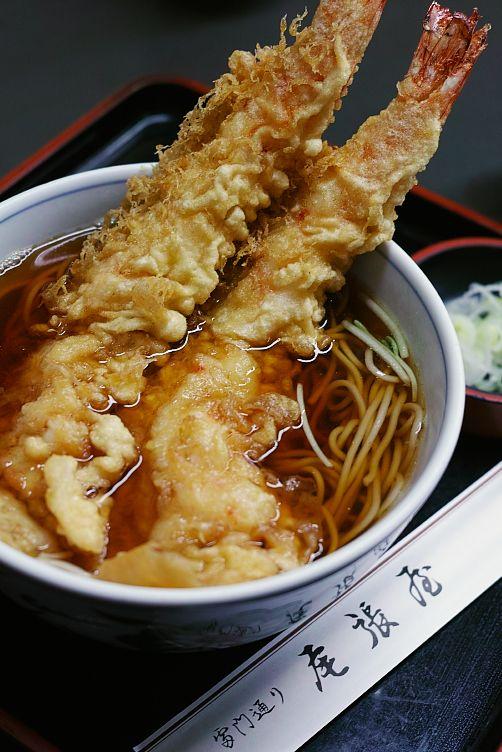 tempura soba  天ぷらそば