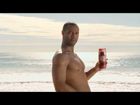 Old Spice | Did You Know  riding horse backwards.  lol.  HE could be on his head he'd still be hot!