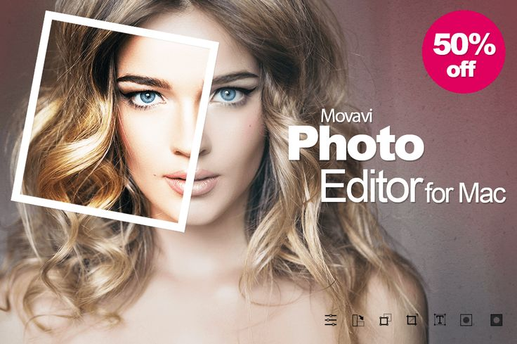 MOVAVI: A Professional Photo Editor for Mac - only 14!