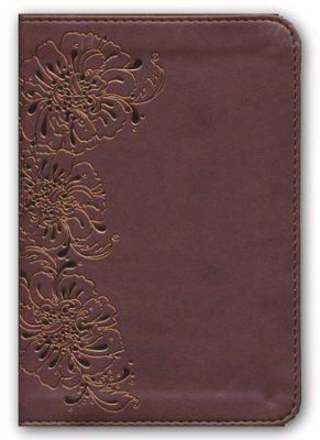 NKJV Compact Large Print Reference Bible, Imitation Leather, Copper Shimmer  -