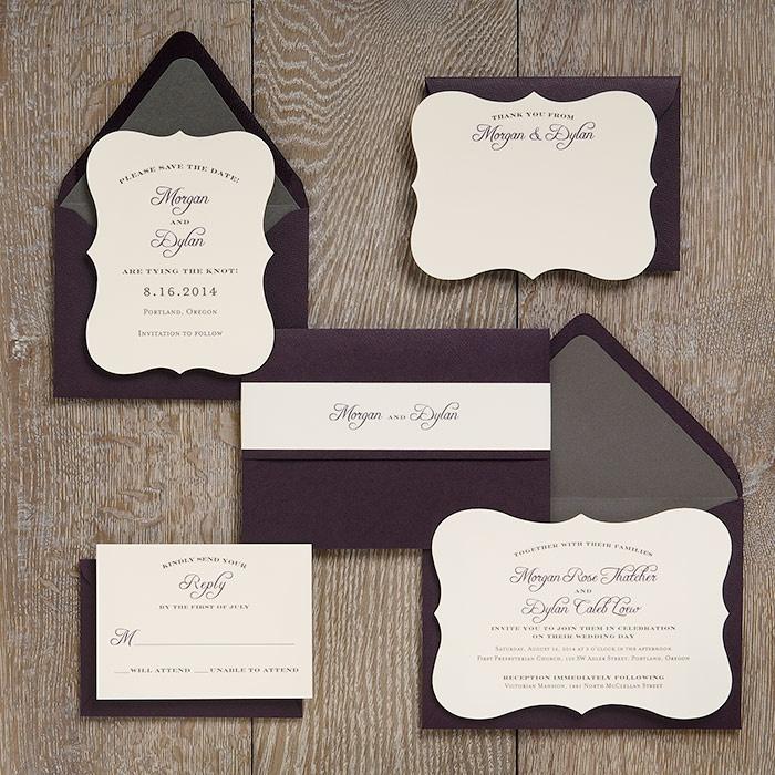 Harmony Wedding Invitation Suite 120 best Design