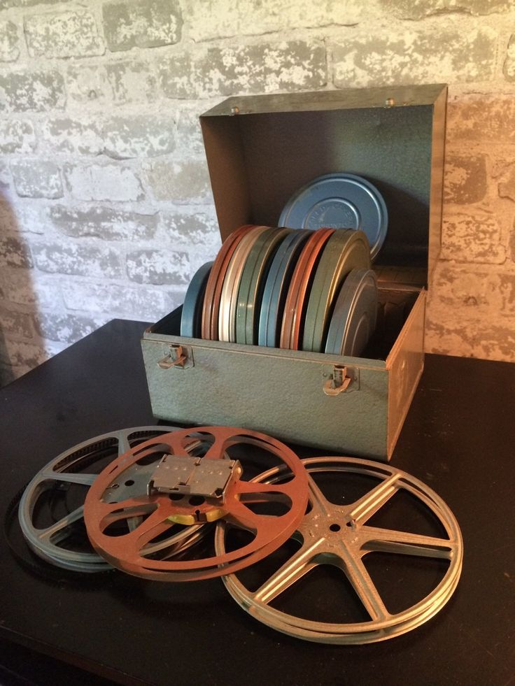 A personal favorite from my Etsy shop https://www.etsy.com/ca/listing/251661751/vintage-movie-reels