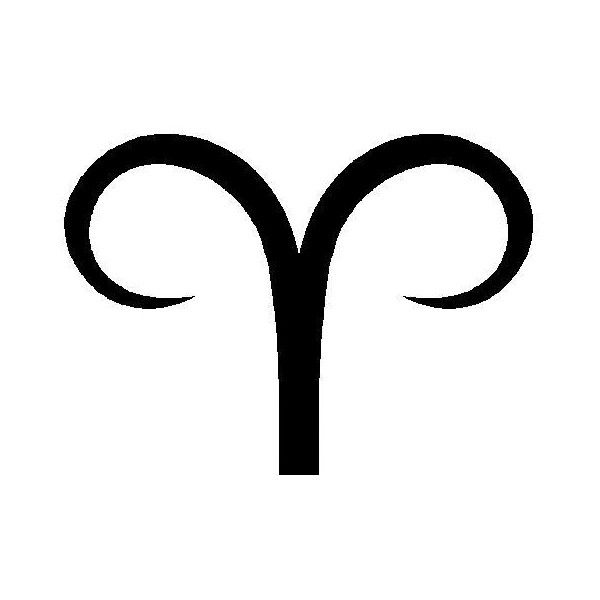 Aries Symbol. want this on my neck