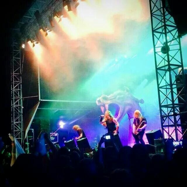 Amon Amarth Brutal Assault Festival 2014