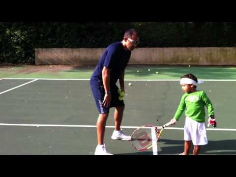 Teach Your Kids Tennis- Video Tennis Tip- The Forehand. - http://sports.onwired.biz/tennis/teach-your-kids-tennis-video-tennis-tip-the-forehand/