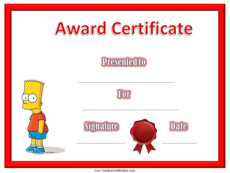 9 best Certificates for kids images on Pinterest Backgrounds - free customizable printable certificates of achievement