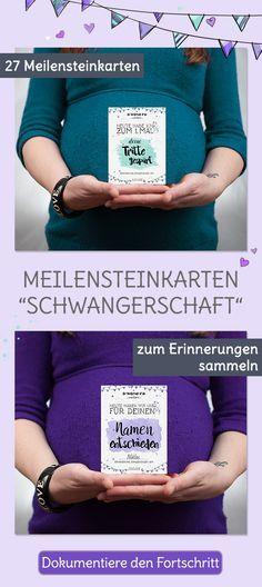 Mit unseren Milestone Karten für die Schwangerschaft kannst du deine Schwangerschaft genau dokumentieren und Erinnerungen sammeln. 27 Meilensteinkarten, das perfekte Geschenk für die Schwangerschaft.