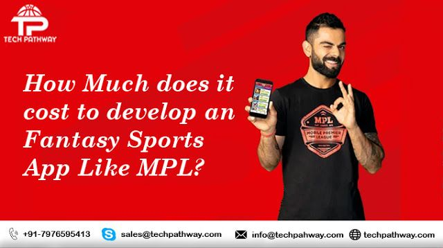 How Much Does It Cost Of Developing An App Like Mpl In 2020 App Development App Development Companies Tech Blogs