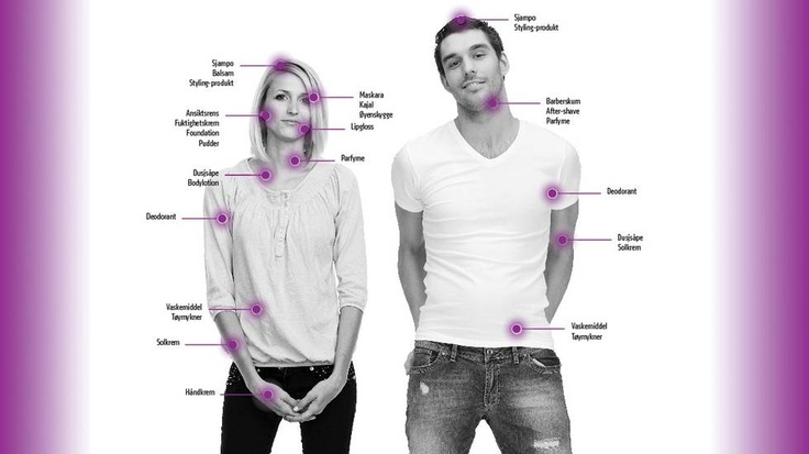 SLIK BRUKER VI PARFYME: Kvinner bruker et betydelige antall flere parfymerte produkter enn menn.