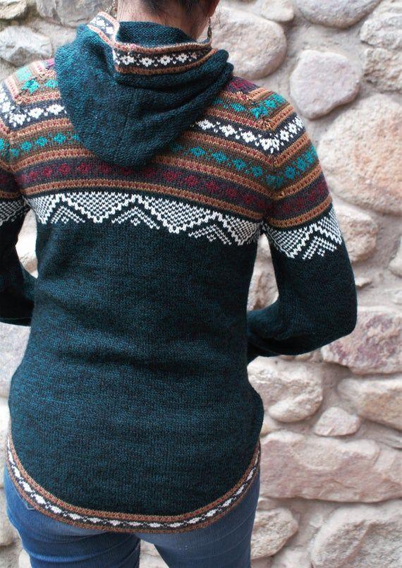 Women Sweater Alpaca Sweater Hoodie Alpaca Clothing