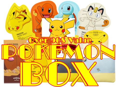 [38 BOX] Pokemon Box (Over 90$ Value)