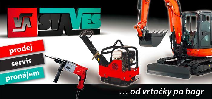 STAVES - Půjčovna stavební mechanizace