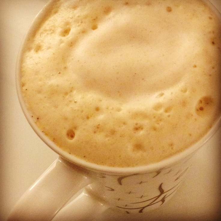 home made chai tea latte of starbucks :)