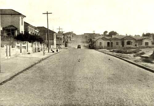 1938 - Rua Voluntários da Pátria, bairro de Santana.