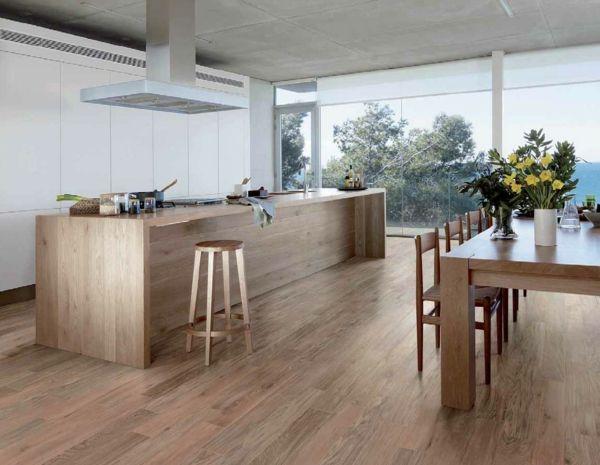 Fliesen in Holzoptik - die moderne Alternative
